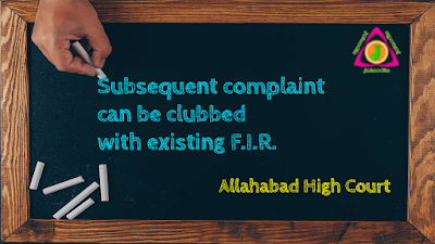 Subsequent-complaint