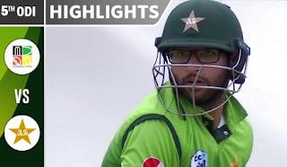 Cricket Highlights - Zimbabwe vs Pakistan 5th ODI 2018