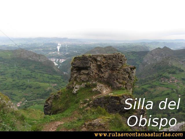 Ruta La Collada Monsacro: Silla del Obispo