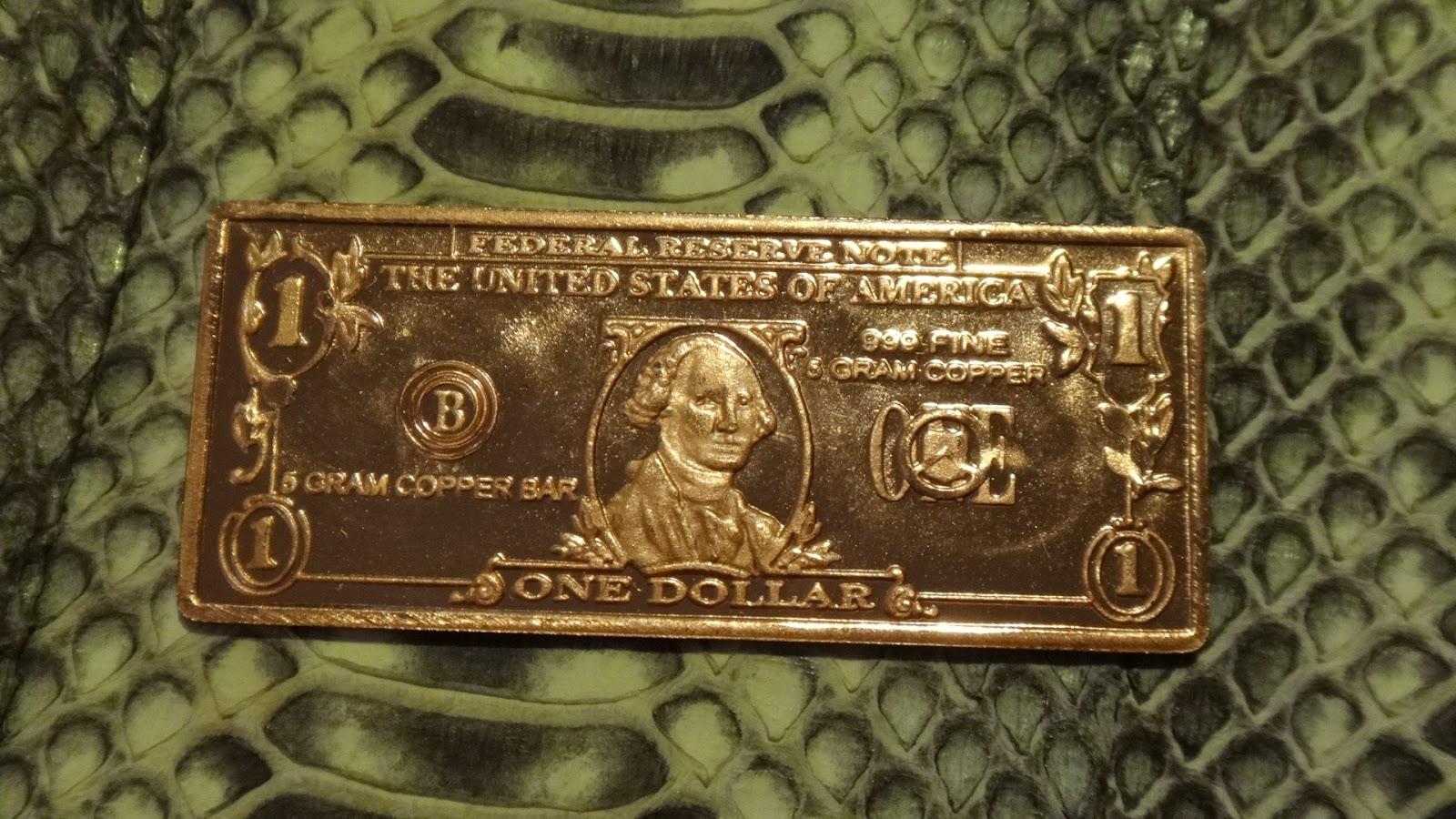 Base Metals Bullion Various Copper Bullion Art Bars 1oz