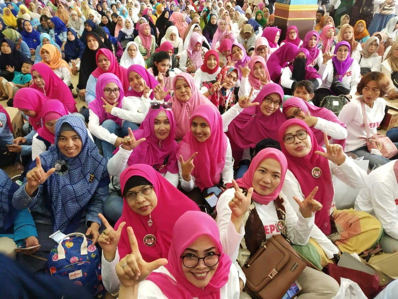 Sandi Uno Community Untuk Indonesia Deklarasi Dukung Prabowo