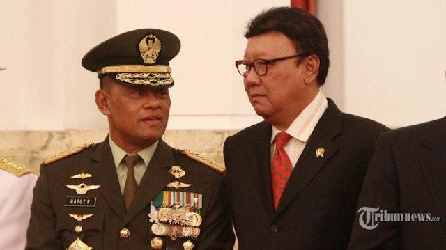 Soal Cawapres Jokowi, Tjahjo Kumolo: Saya 'TNI' Saja