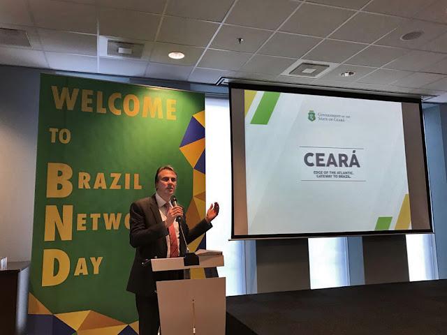 Camilo Santana apresenta o Ceará a 300 empresários em evento na Holanda