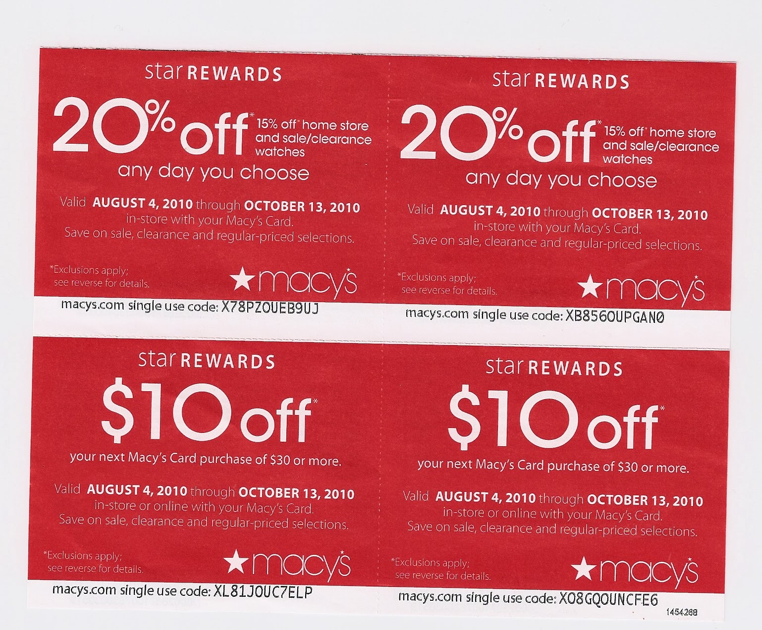 Find the best Macy's coupons, promo codes and sales for December Save more at every store with Coupon Sherpa!