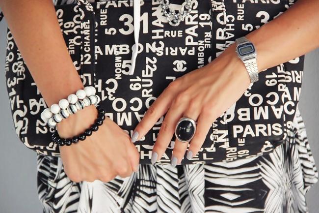 Glam Chameleon Jewelry handmade stone bracelets