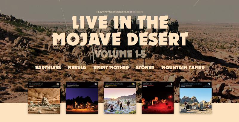 Earthless - Nebula - Spirit Mother - Stöner - Mountain Tamer - Live In The Mojave Desert | Review
