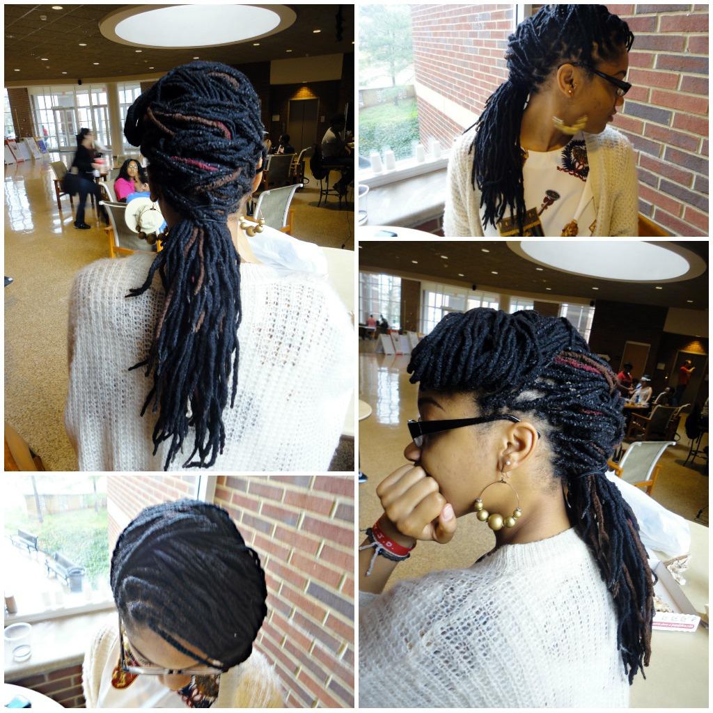 Natural Beautie Genie Locs Yarn Braids Style 2
