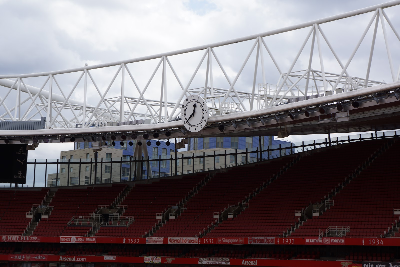 Arsenal Stadium clock