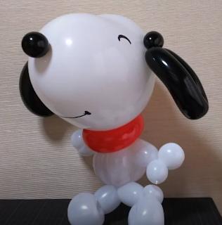Snoopy als Ballonfigur.