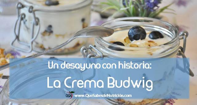 La crema Budwig