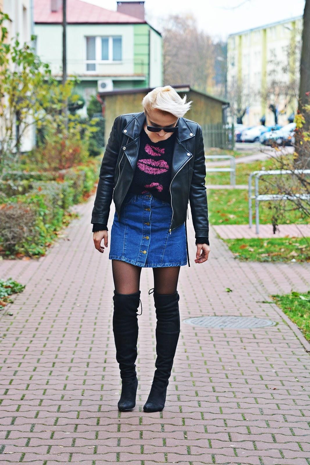 jeansowa_spodnica_skorzana_ramoneska_buty_za_kolano_karyn2