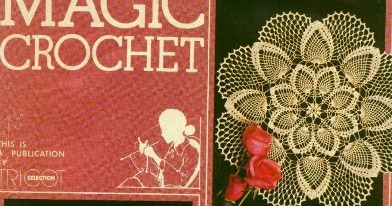 Magic Crochet No 22 Free Crochet Patterns