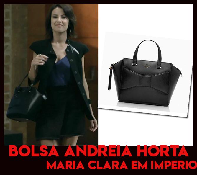 Conheça a bolsa da Andreia Horta, a Maria Clara em Império