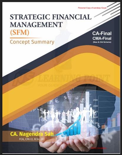 CA Final Paper 2 - SFM Concept Summary