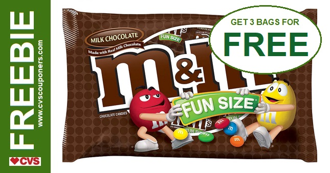 FREE Fun Size Chocolate Bags at CVS 10-13-10-19