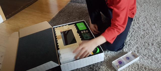 Ouverture de la boite