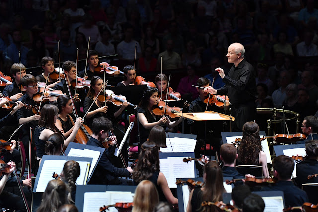 The National Youth Orchestra at the Proms with George Benjamin