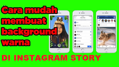 Cara Mengubah Warna Background Instagram Story