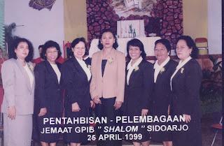 Pentahbisan - Pelembagaan Jemaat GPIB SHALOM SIDOARJO