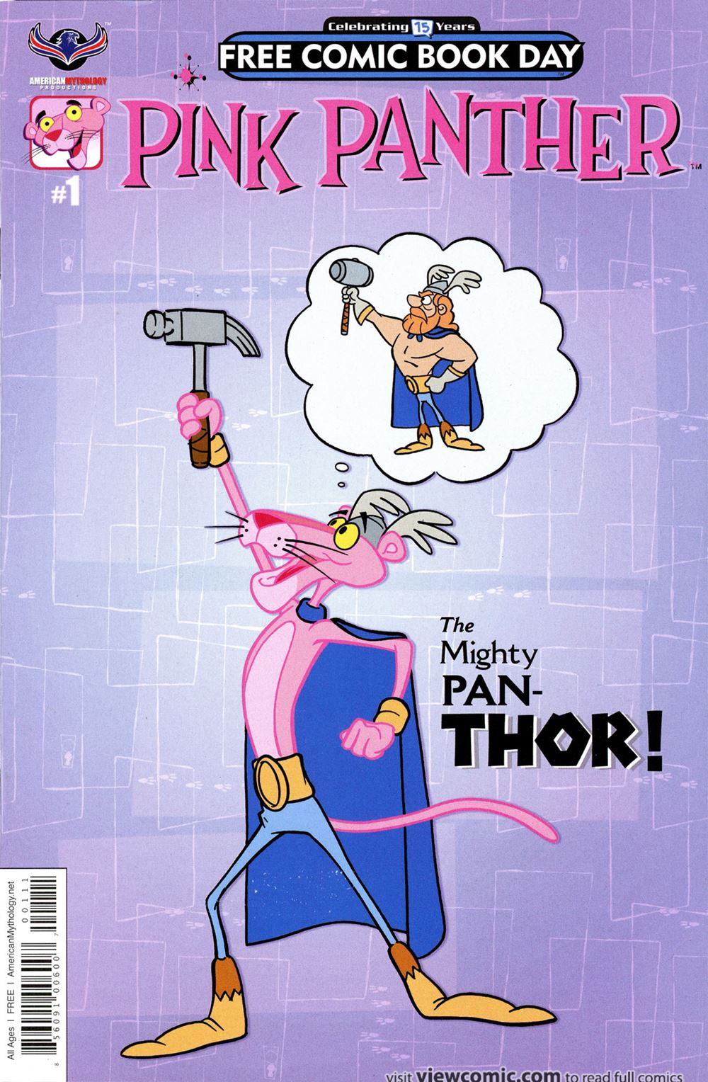 Free Comic Book Day 2016 Pink Panther Fcbd Edition 001 2016