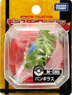 Tyranitar  figure Takara Tomy Monster Collection M series