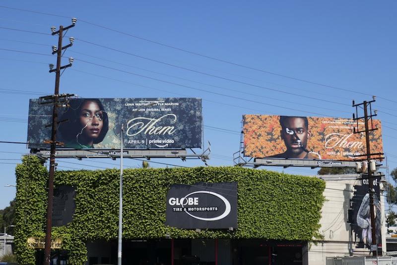 Them series premiere billboards