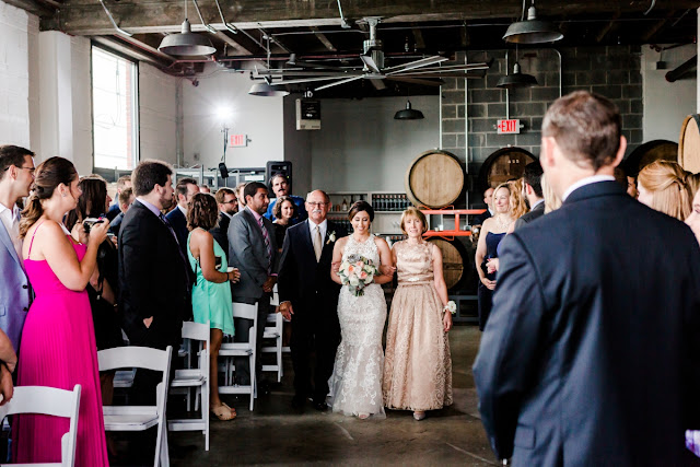 Washington DC Wedding at Republic Restoratives Distillery photographed by Heather Ryan Photography