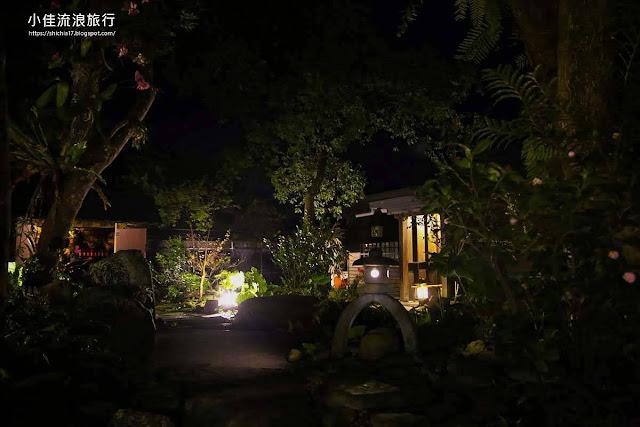 月廬食堂庭園