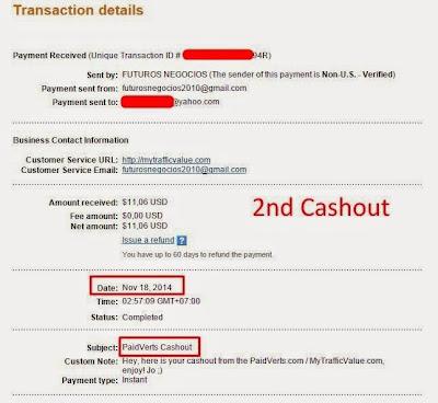 Cashout ke-2 Situs Paidverts