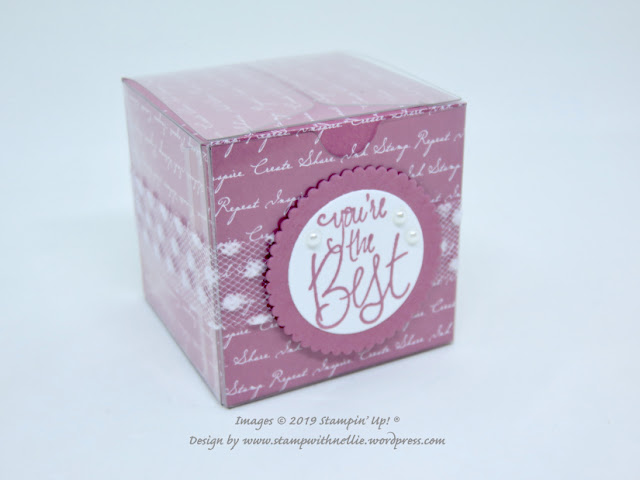 Tiny Treat Box Stampin Up