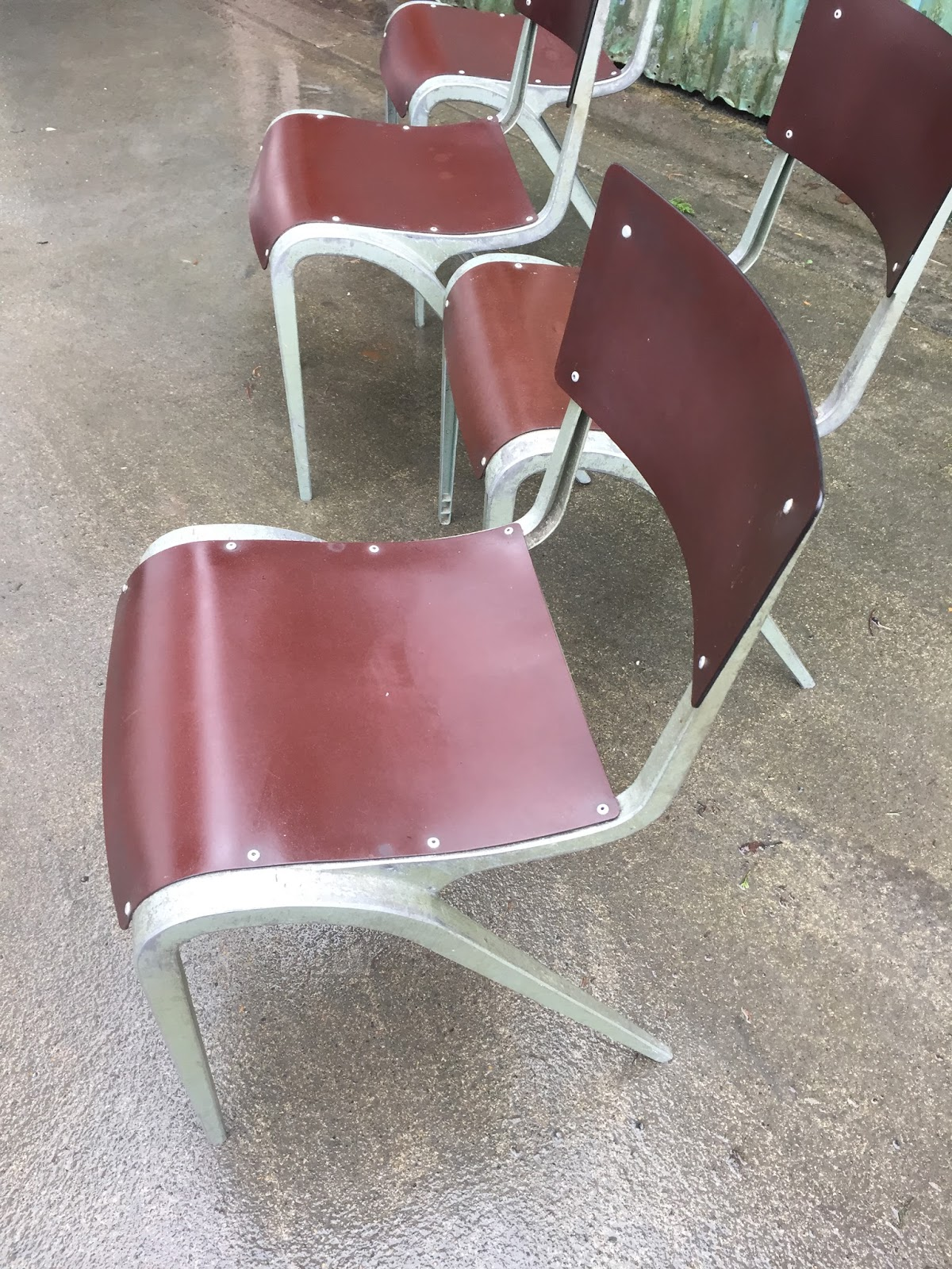 Retro Dining Chairs Ireland Chair And A Half With Ottoman Sale Vintage Furniture