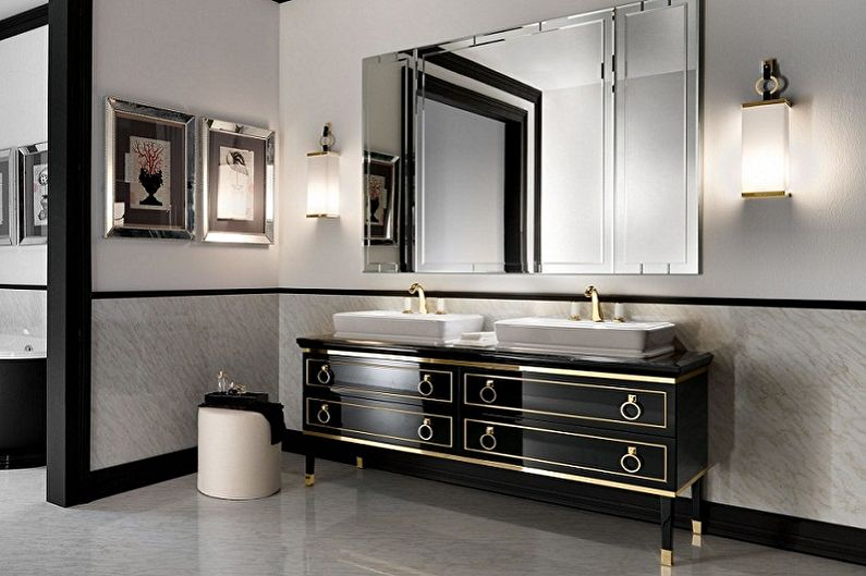 Top 30 Modern bathroom sink cabinet design ideas 2019