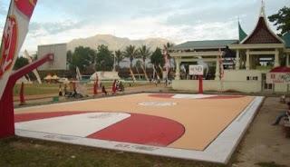 Biaya Renovasi lapangan Basket