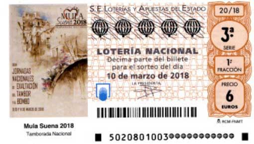 Resultado del sorteo de loteria nacional sabado 10 marzo 2018