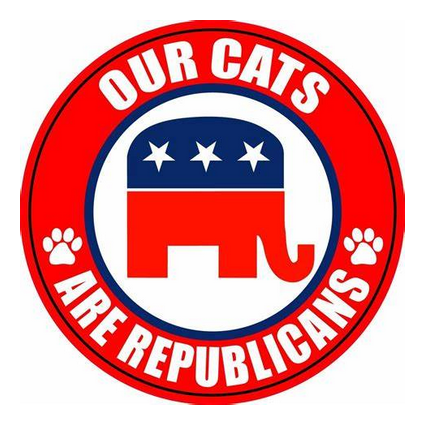 Our cats are Republicans