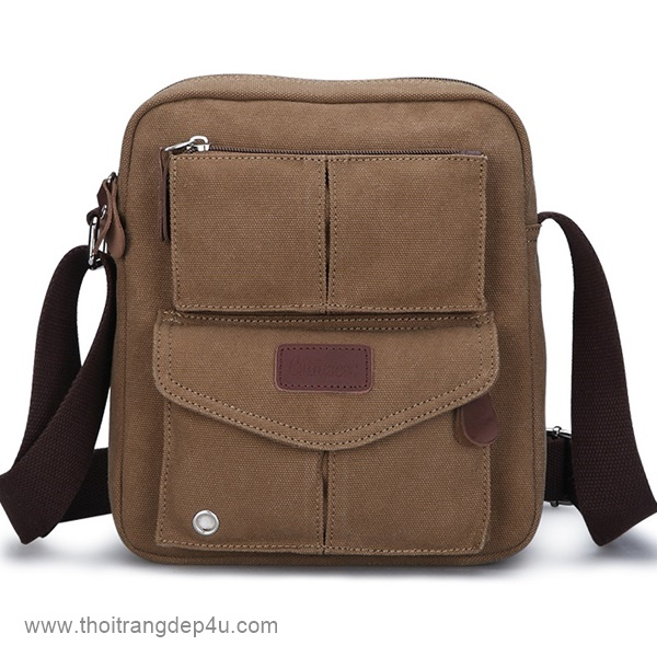 Túi đeo chéo nam tphcm - Túi vải bố VF234