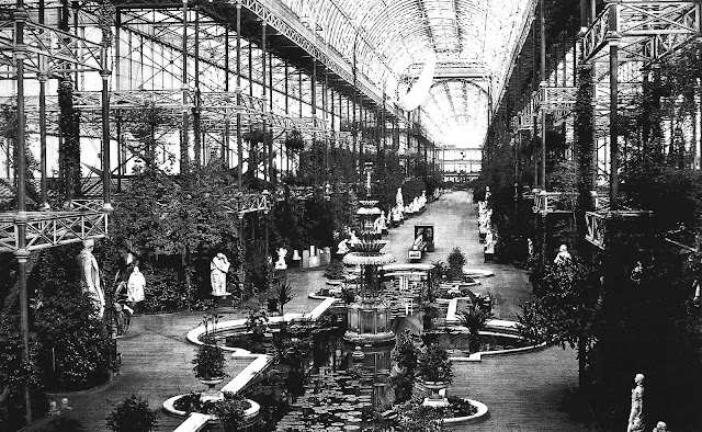 1851 Crystal Palace garden wing