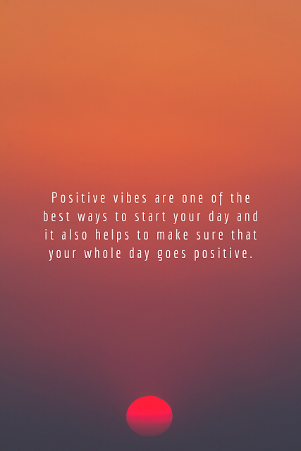 There are several benefits that one can get from having positive vibes. Let's have a look at some of them.