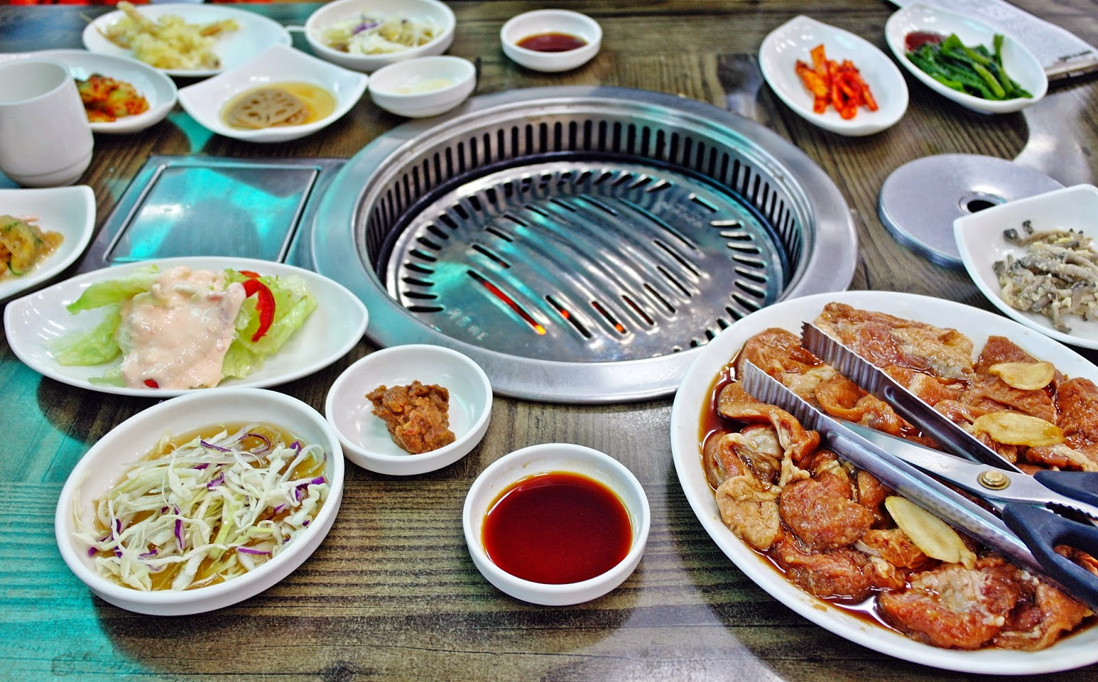 Recommended Food in Punggi: BBQ Ginseng Rib 풍기 인삼 갈비 |