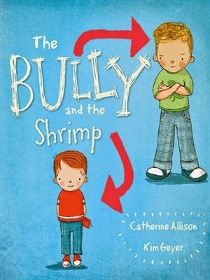 The Bully and the Shrimp - Book cover showing the two main characters, Bully and Shrimp