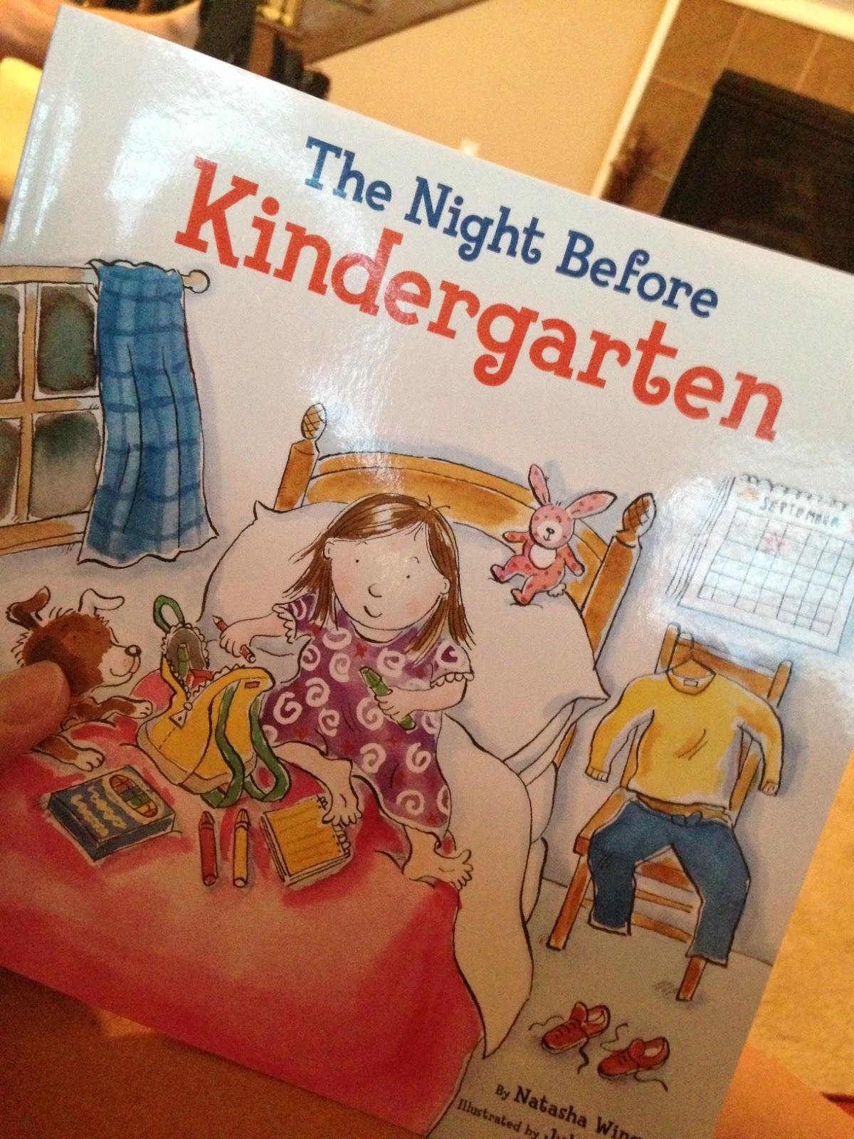 The Furr Five Twas The Night Before Kindergarten