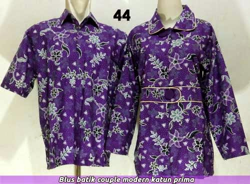 Blus batik couple edisi 2014
