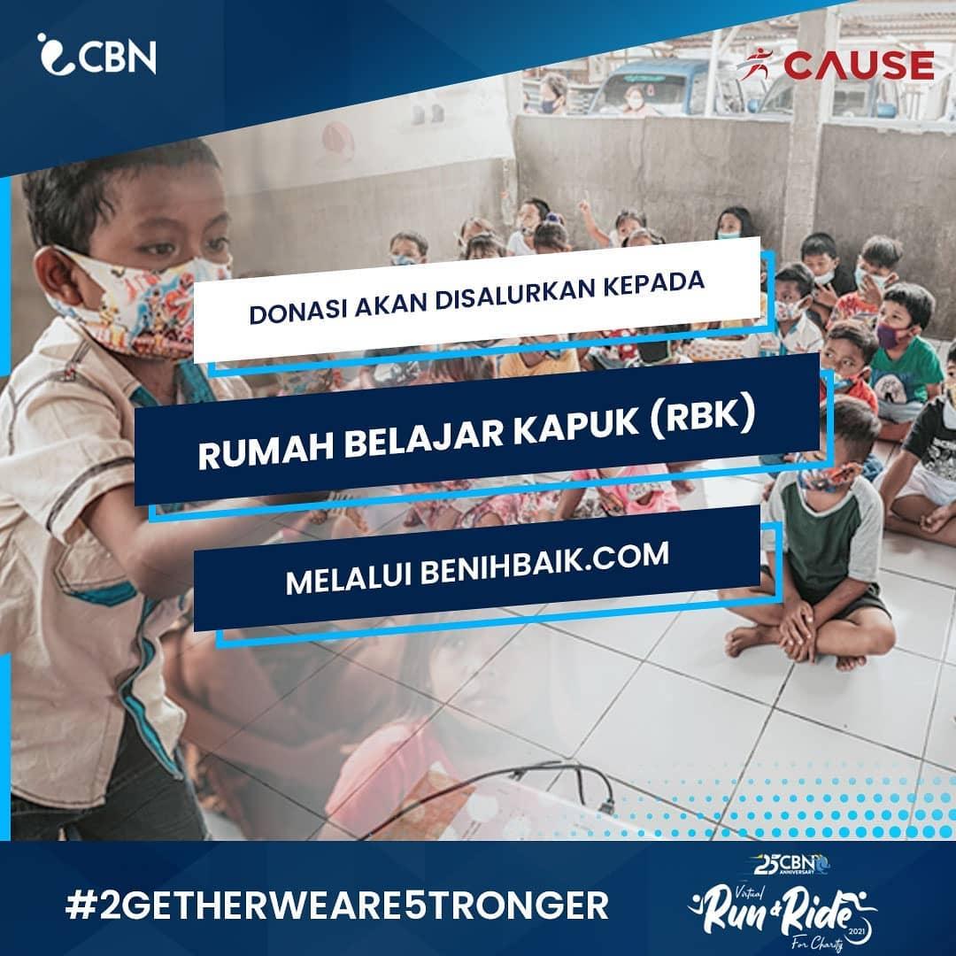 Donasi 💌 CBN Virtual Run & Ride for Charity • 2021