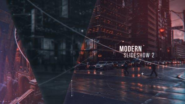 Modern Slideshow II : After Effects Template