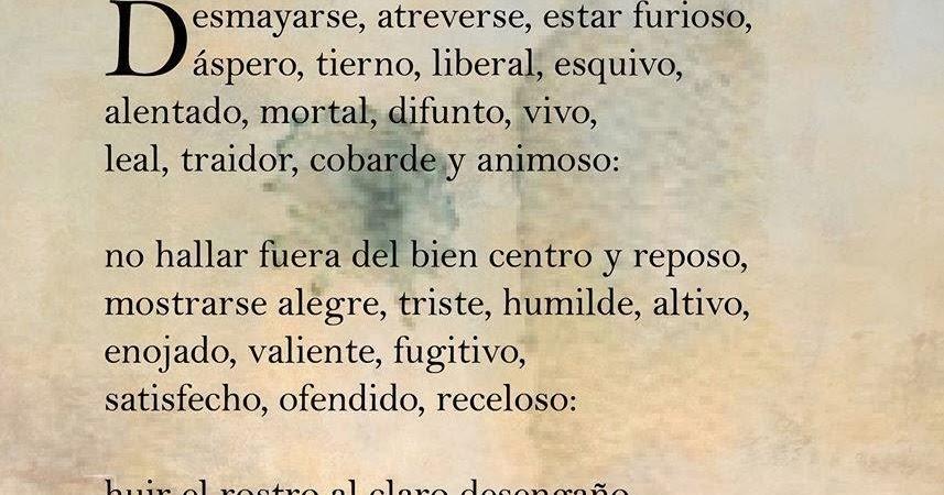 Frases Célebres Esto Es Amor Lope De Vega