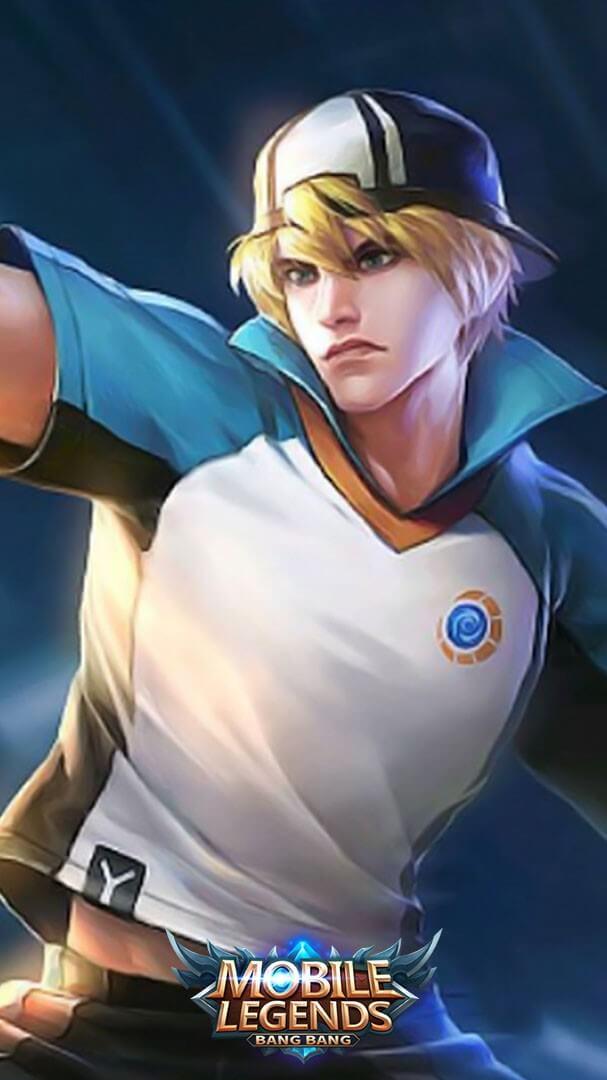Wallpaper Clint Badminton Champion Skin Mobile Legends HD for Mobile