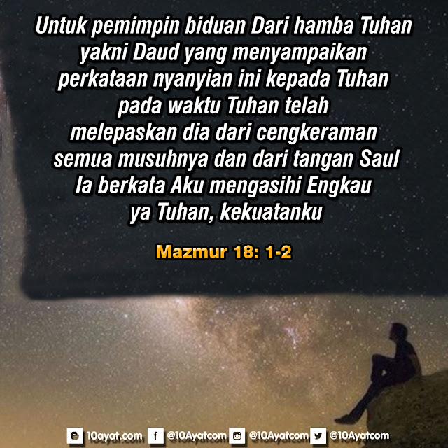 Mazmur 18:1-2