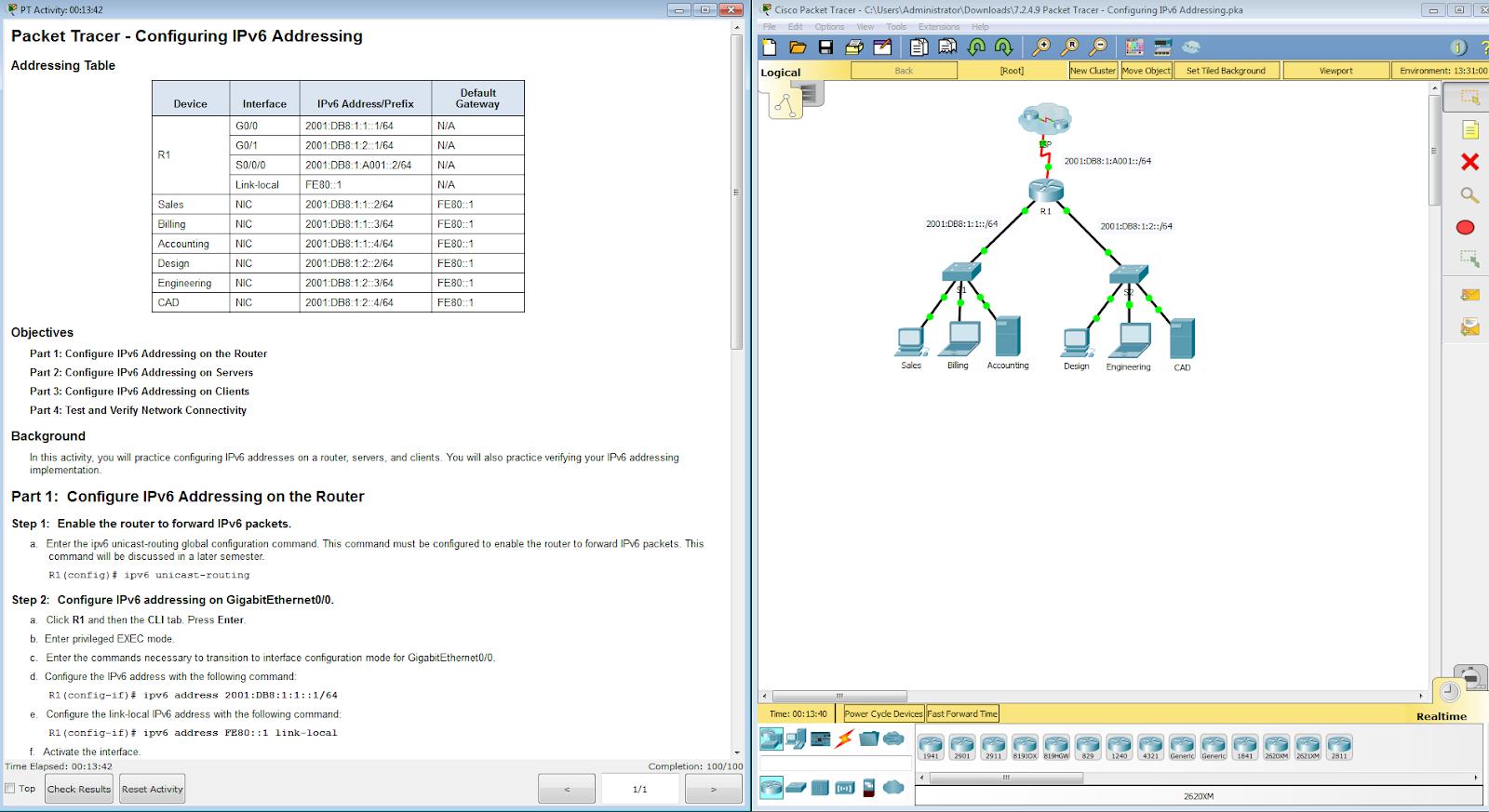 How To Assign Ipv6 Address Network Basics Assigning Ipv6