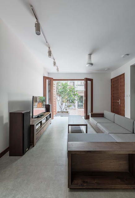 Ngôi nhà phố đẹp 5m được xây trên đất nền cũ tại Đồng Nai