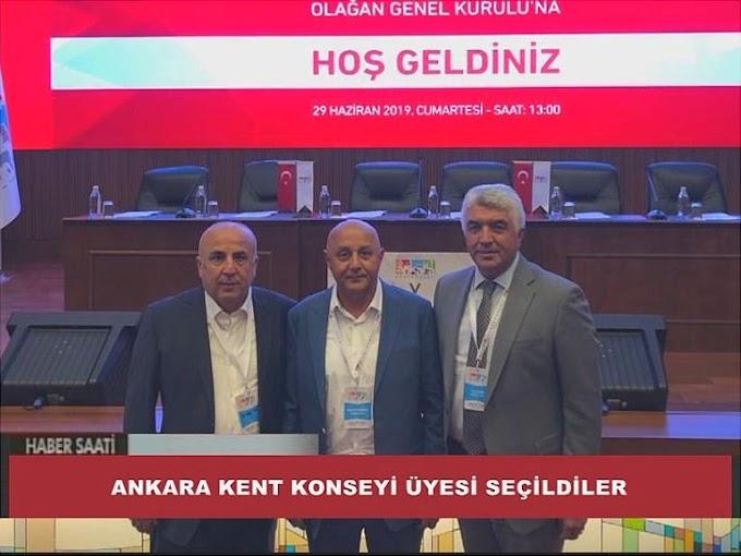 Ankara Büyükşehir Belediyesi, Ankara Kent Konseyi üyesi olarak